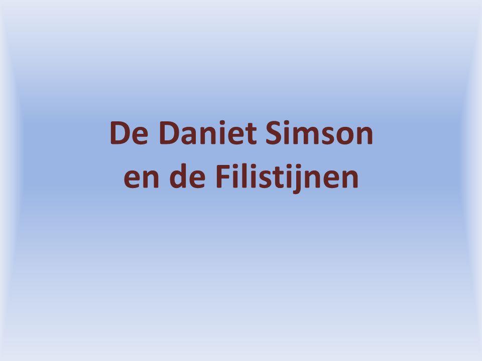 De Daniet Simson en de Filistijnen