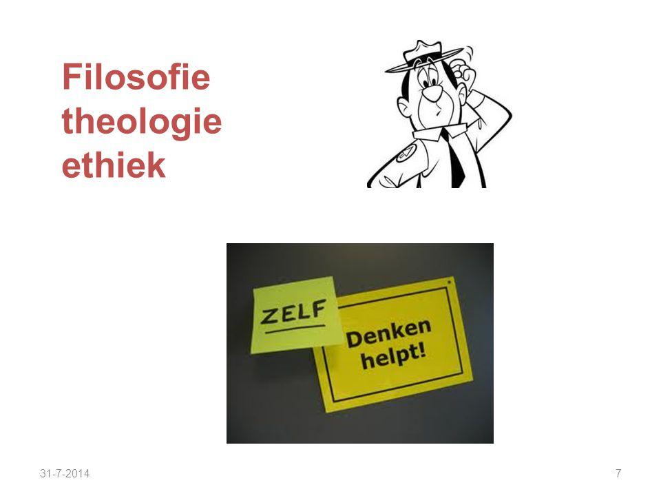 Filosofie theologie ethiek 4-4-2017