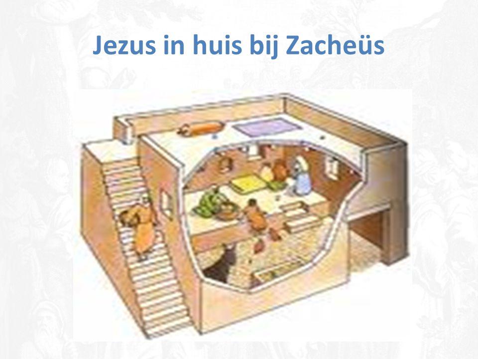 Jezus in huis bij Zacheüs