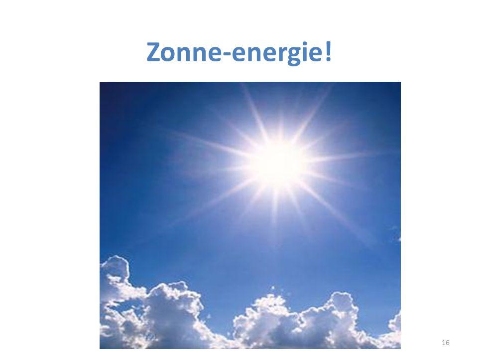 Zonne-energie!