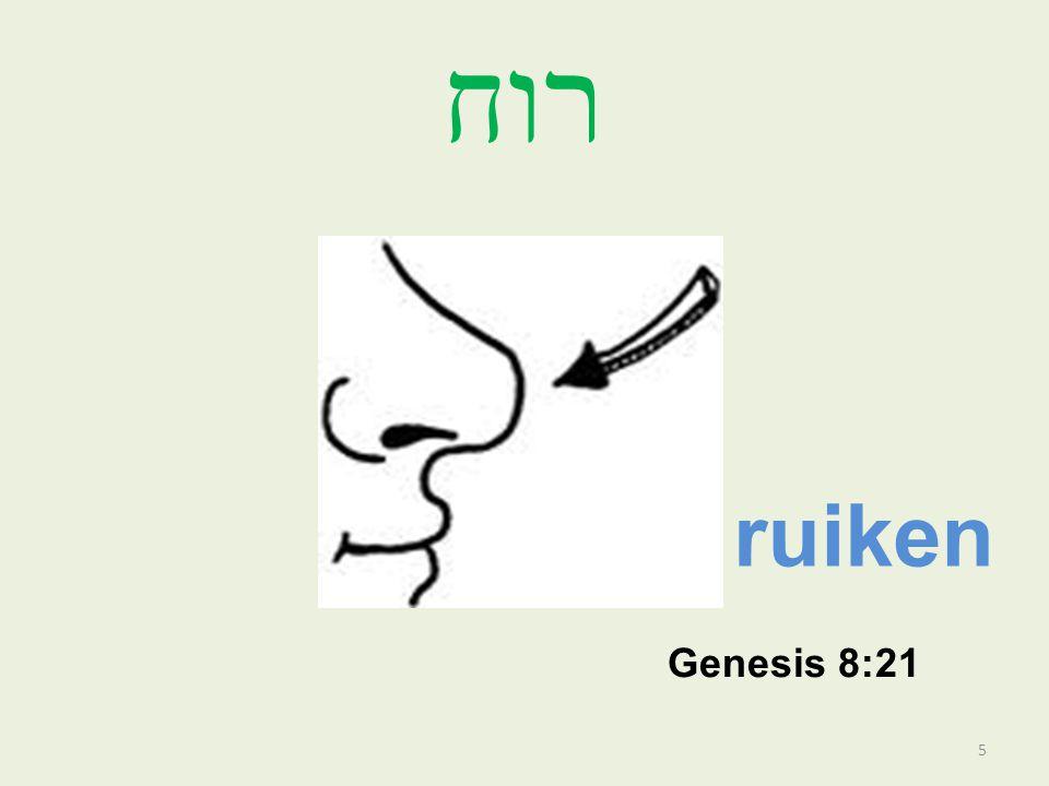 רוח ruiken Genesis 8:21