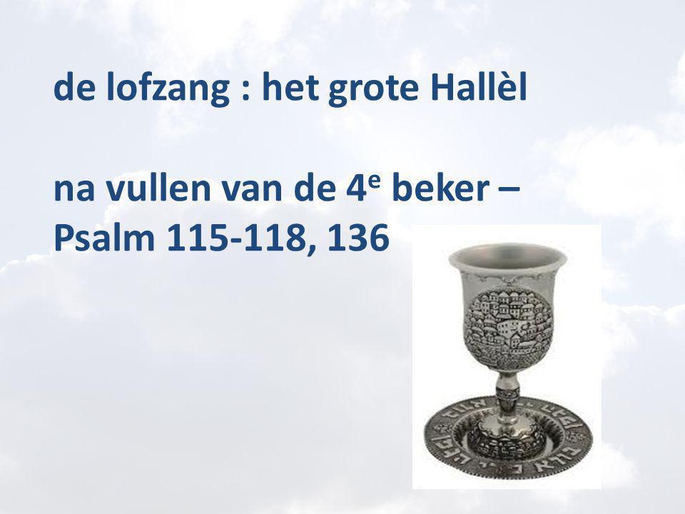 de lofzang : het grote Hallèl