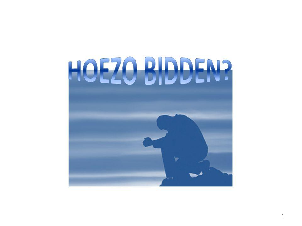 HOEZO BIDDEN