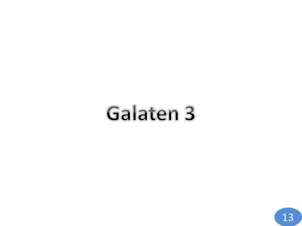 Galaten 3 13