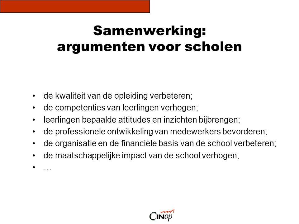 Samenwerking: argumenten voor scholen