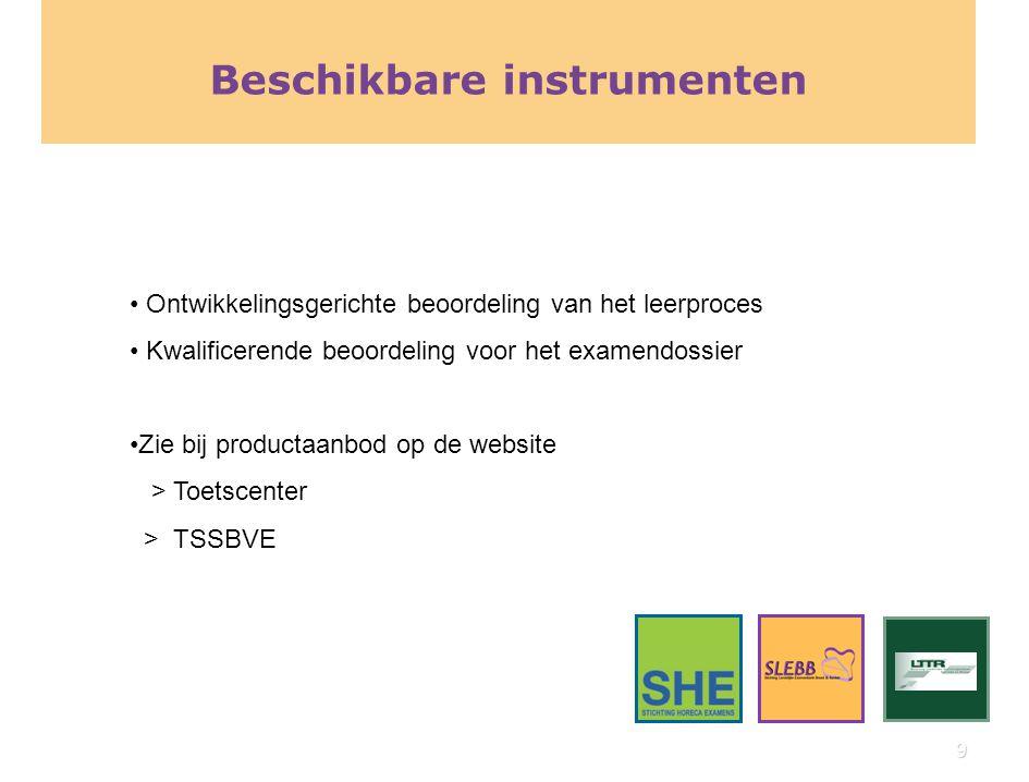 Instrumenten voor ontwikkelingsgerichte beoordeling