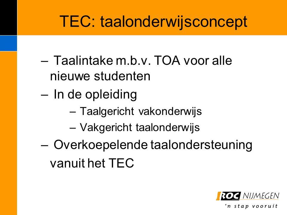 TEC: taalonderwijsconcept