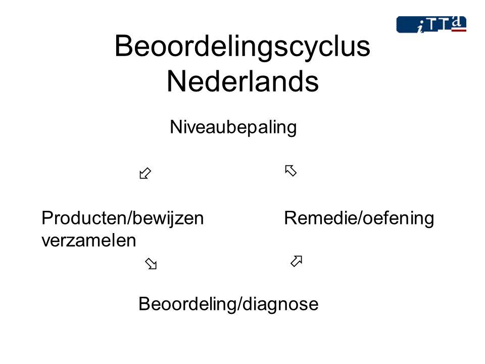 Beoordelingscyclus Nederlands