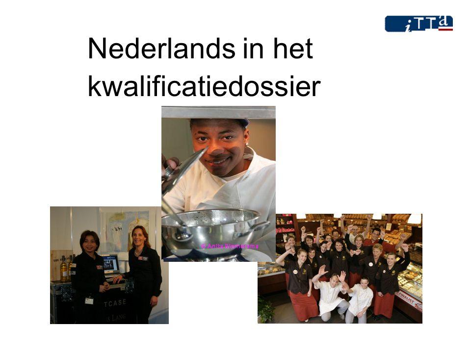 Nederlands in het kwalificatiedossier