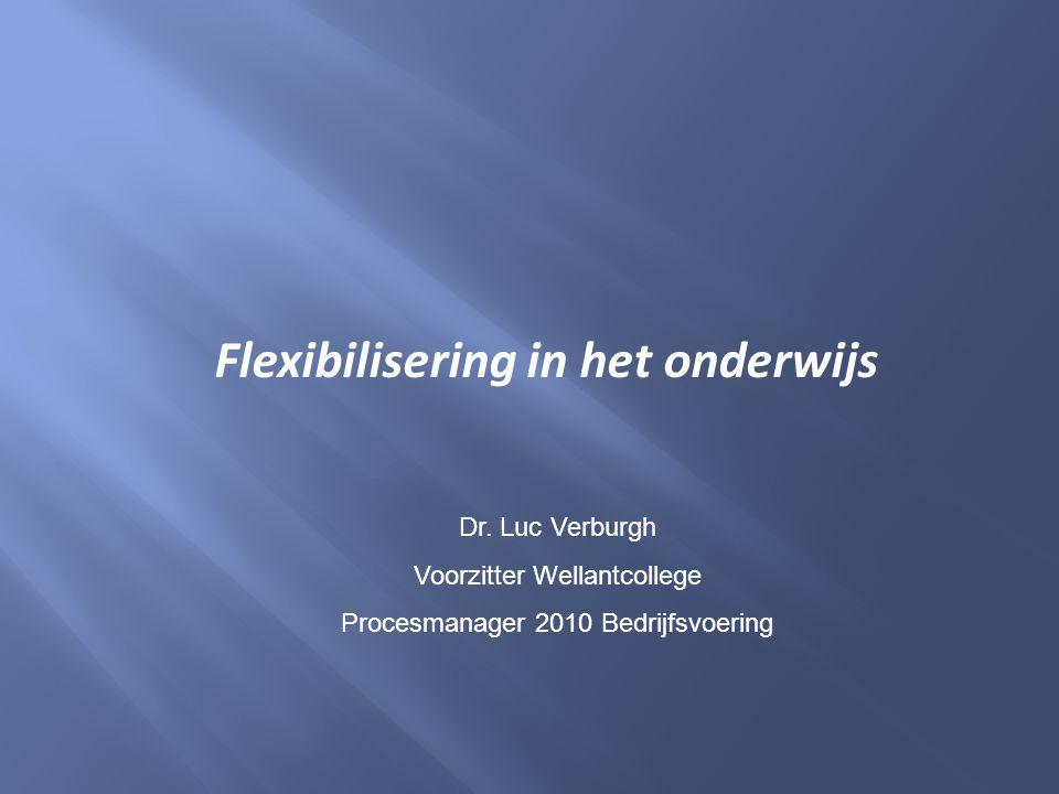 Flexibilisering in het onderwijs