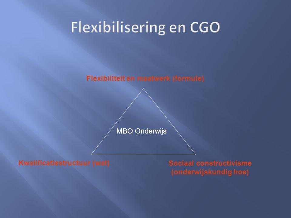 Flexibilisering en CGO