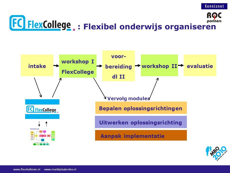 : Flexibel onderwijs organiseren