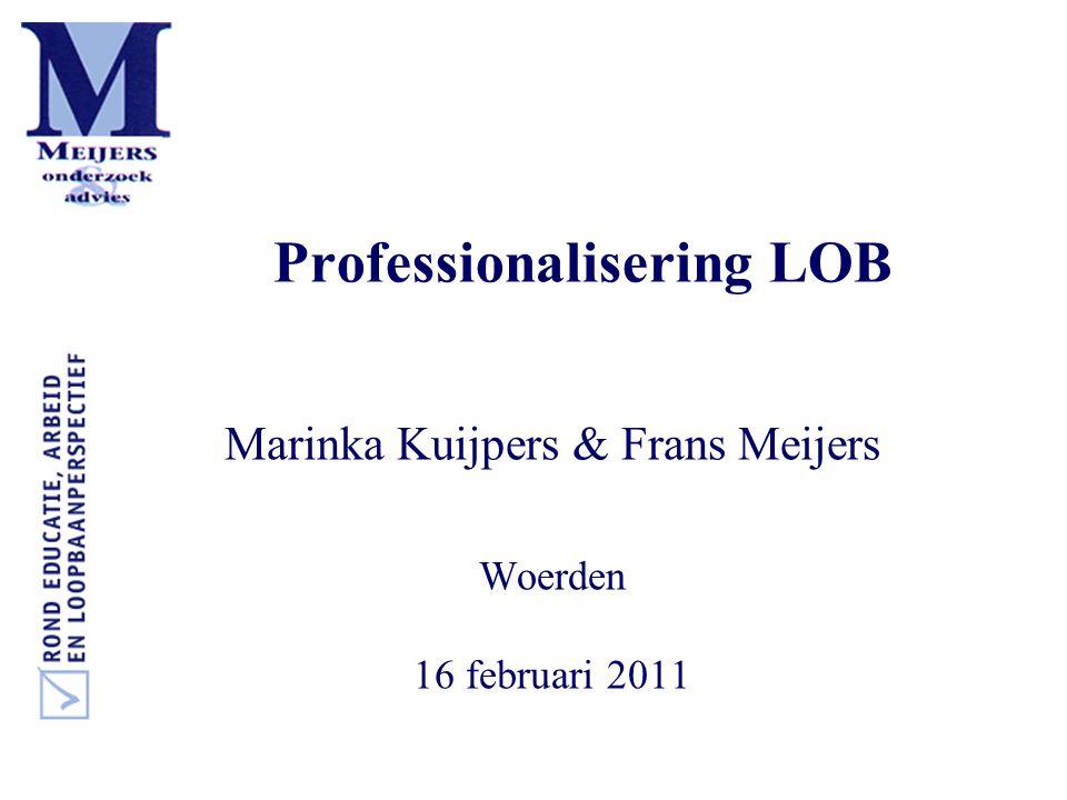Professionalisering LOB