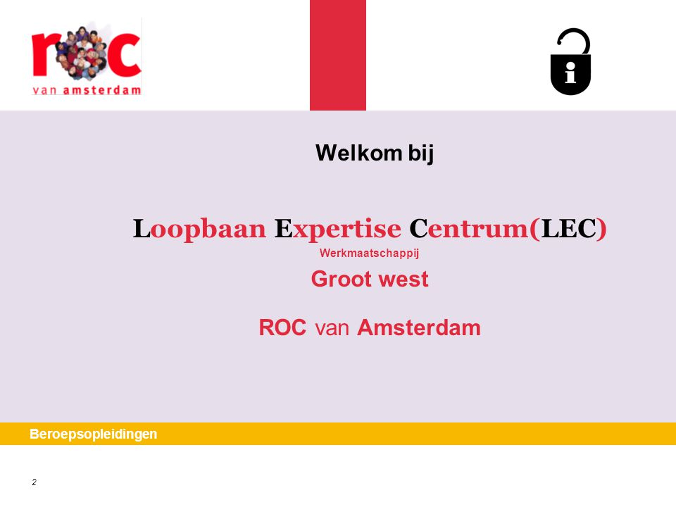 Loopbaan Expertise Centrum(LEC)