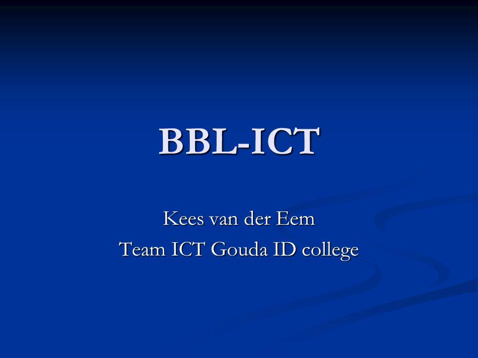Kees van der Eem Team ICT Gouda ID college