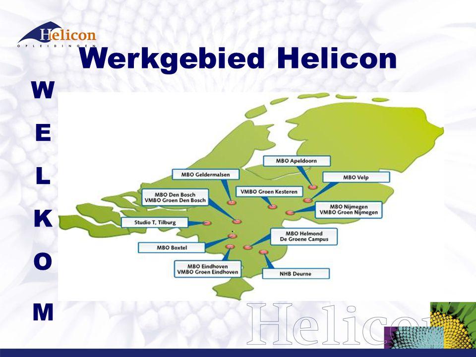 Werkgebied Helicon W E L K O M