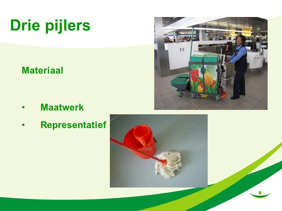 Drie pijlers Materiaal Maatwerk Representatief