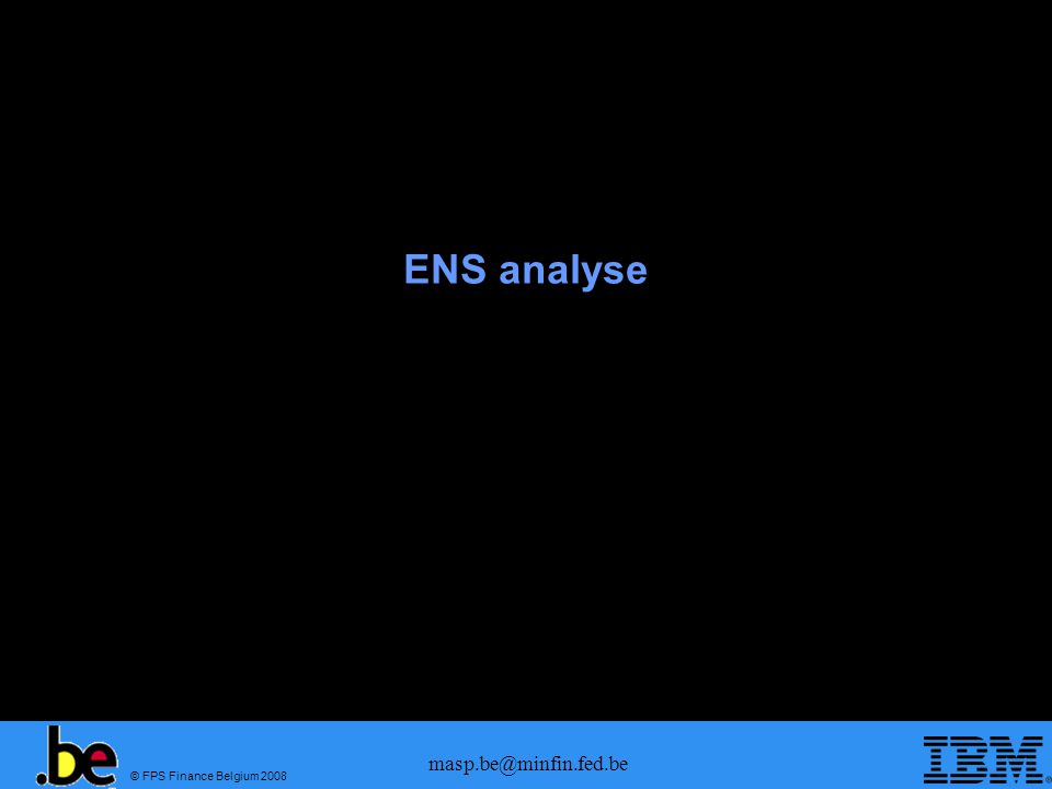 ENS analyse masp.be@minfin.fed.be