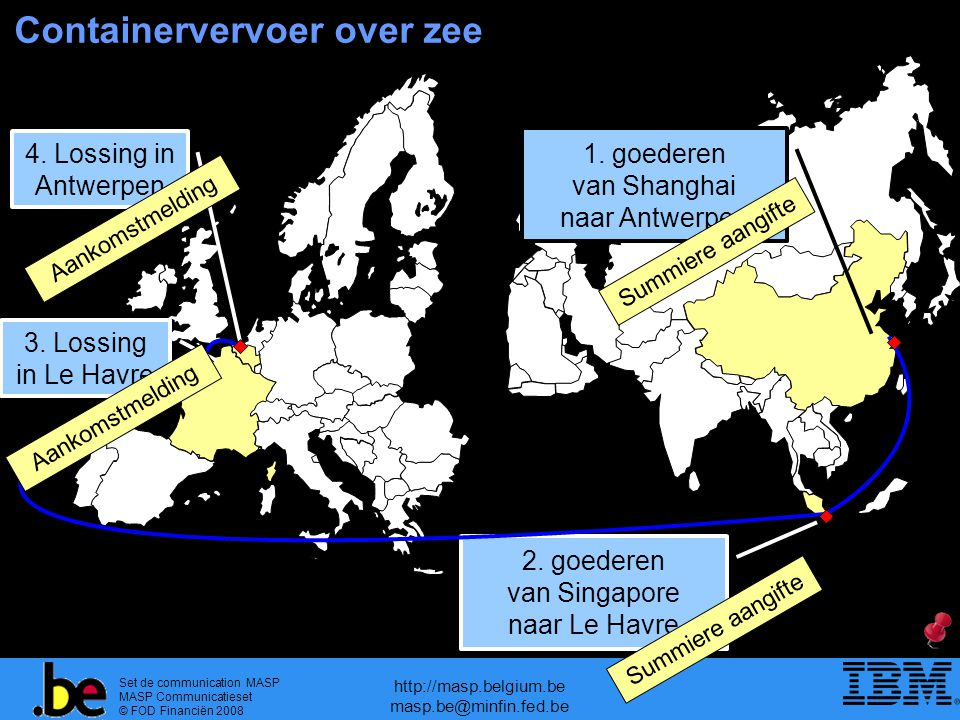 Containervervoer over zee