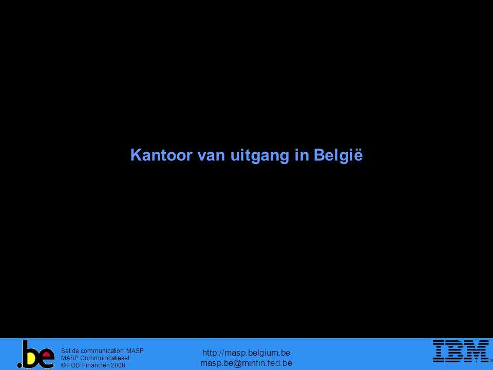 Kantoor van uitgang in België