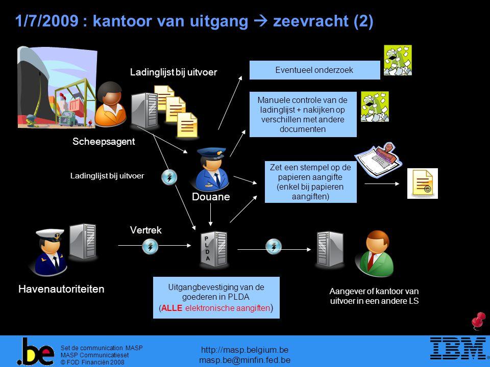 1/7/2009 : kantoor van uitgang  zeevracht (2)