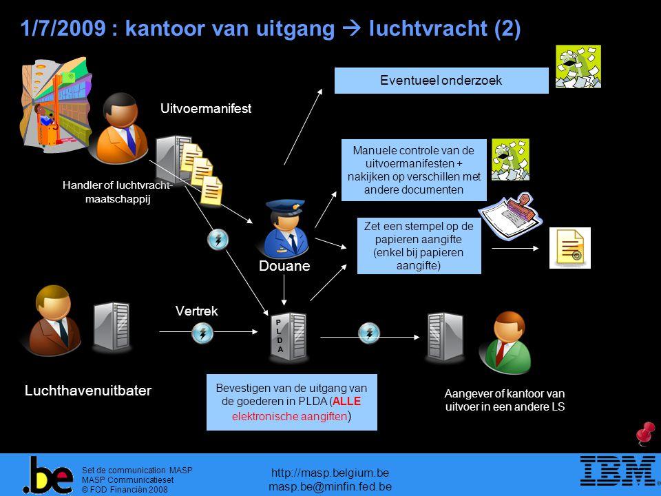 1/7/2009 : kantoor van uitgang  luchtvracht (2)