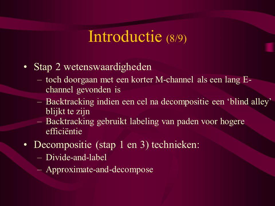 Introductie (8/9) Stap 2 wetenswaardigheden