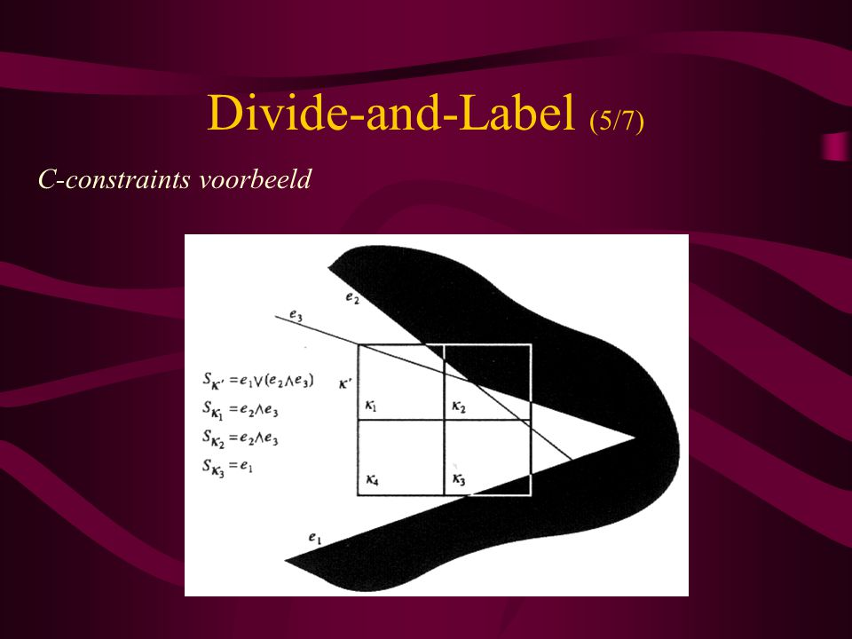 Divide-and-Label (5/7) C-constraints voorbeeld