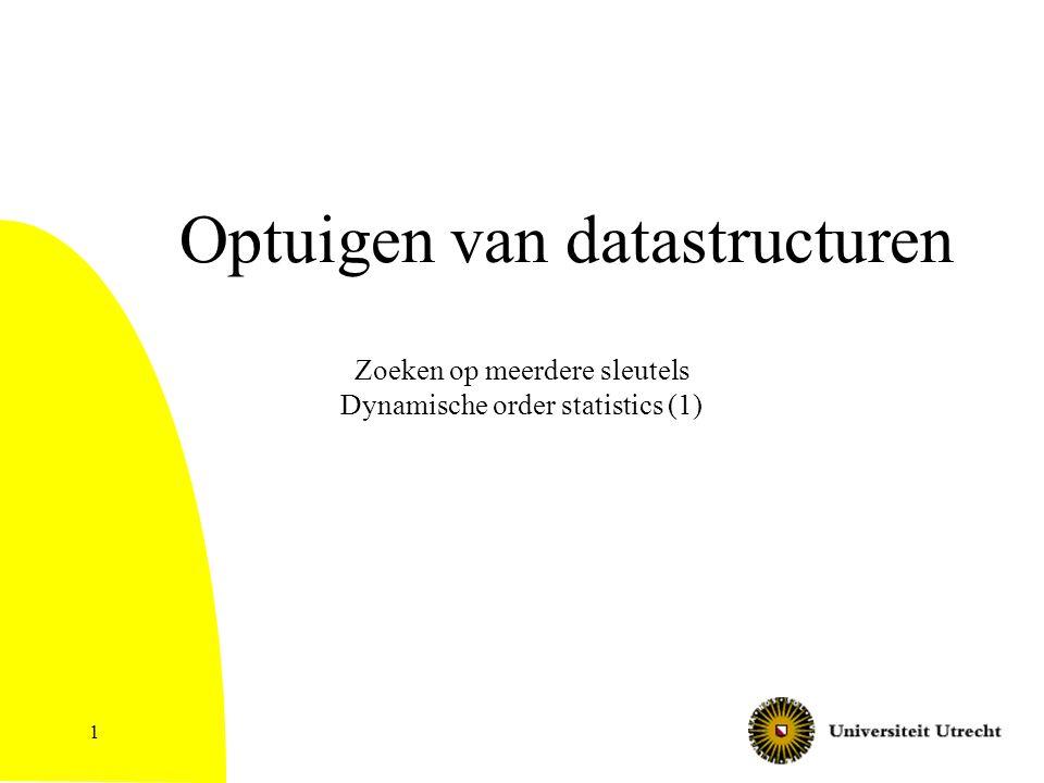 Optuigen van datastructuren