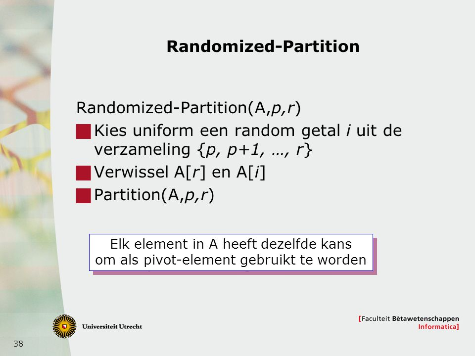 Randomized-Partition