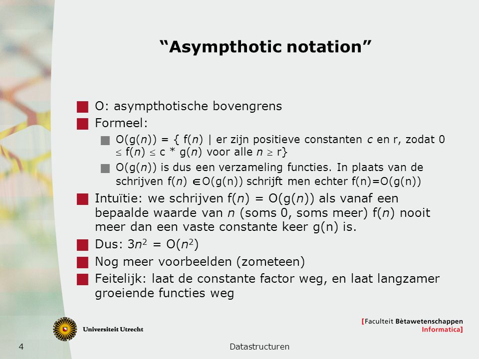 Asympthotic notation