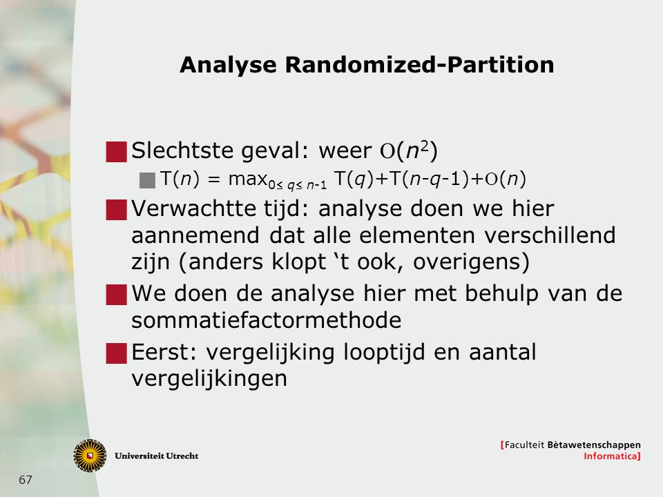 Analyse Randomized-Partition
