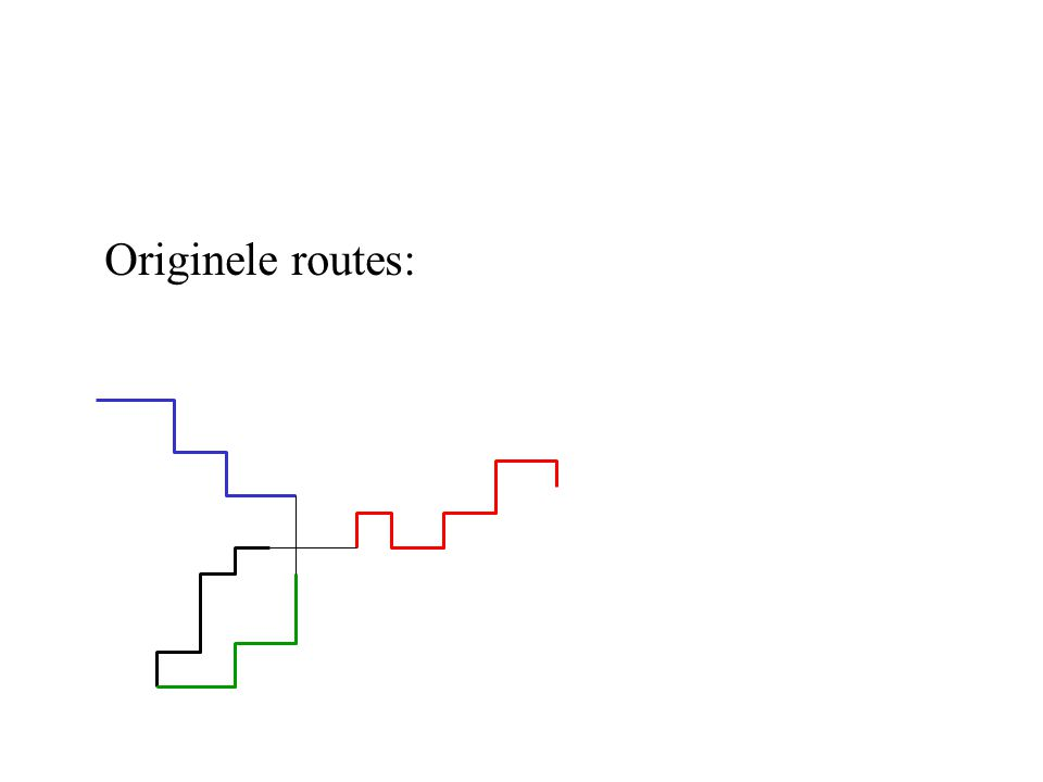 Originele routes: