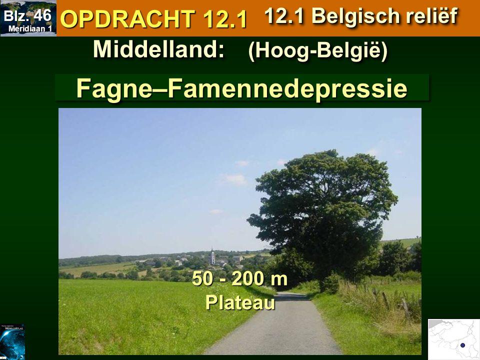 Middelland: (Hoog-België) Fagne–Famennedepressie