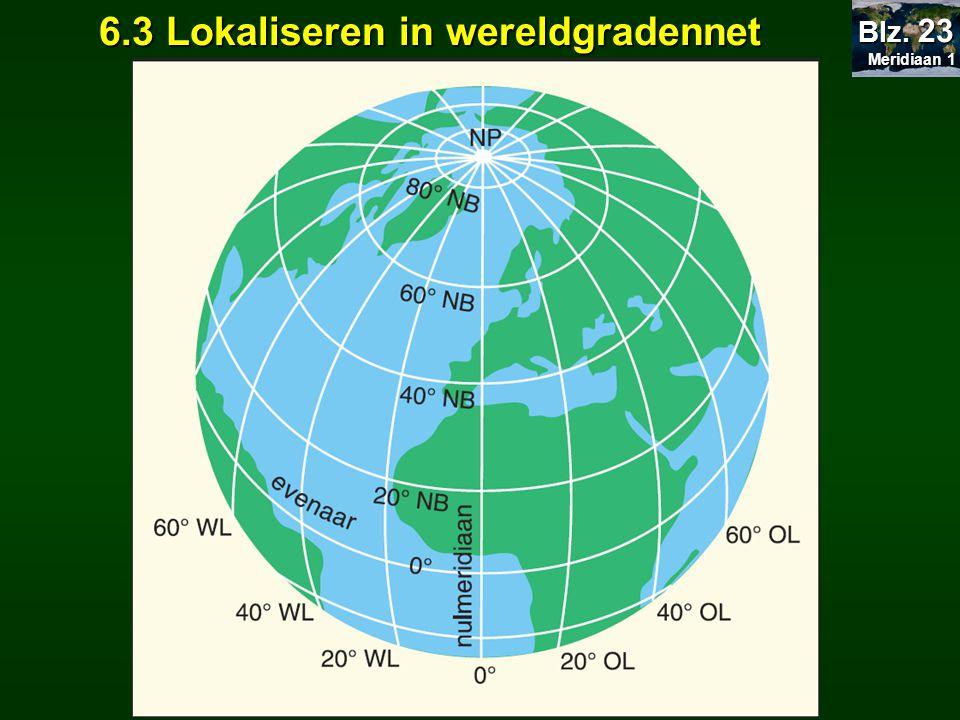 6.3 Lokaliseren in wereldgradennet