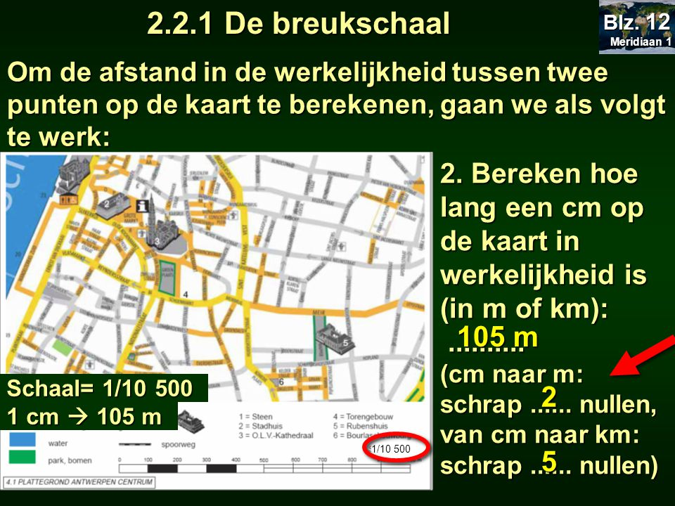 2 de kaart 2 1 van luchtfoto naar kaart 2 2 kaart en schaal ppt download - Kaart evenwicht tussen werk en ...
