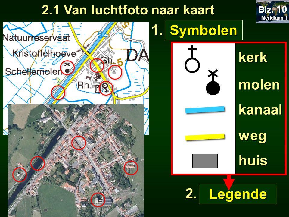 2.1 Van luchtfoto naar kaart
