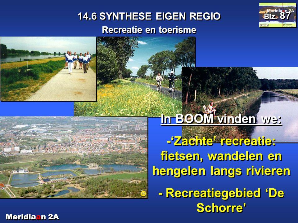 -'Zachte' recreatie: fietsen, wandelen en hengelen langs rivieren