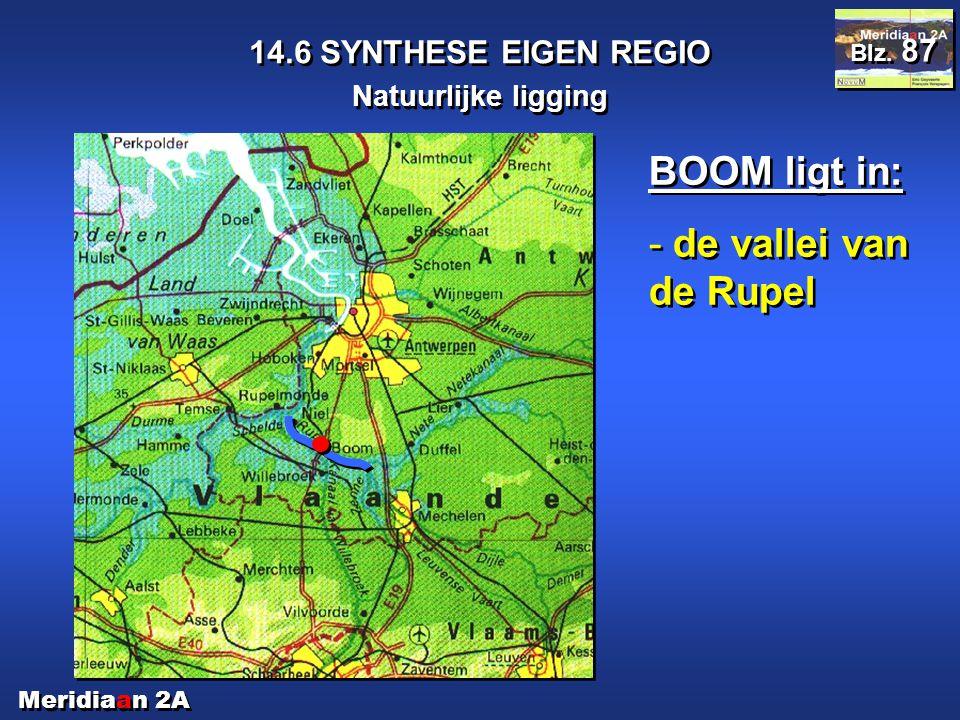 BOOM ligt in: de vallei van de Rupel 14.6 SYNTHESE EIGEN REGIO