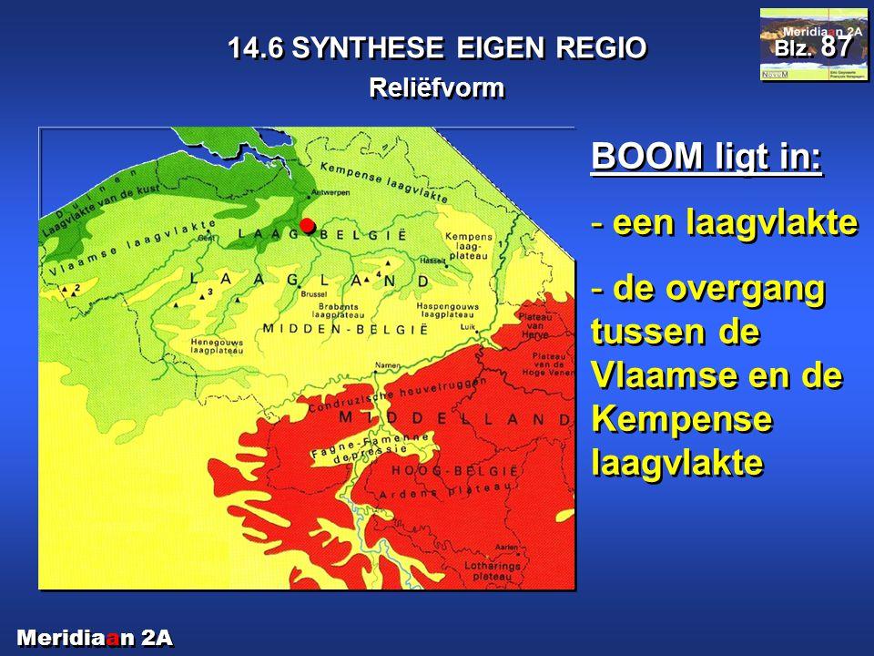 de overgang tussen de Vlaamse en de Kempense laagvlakte