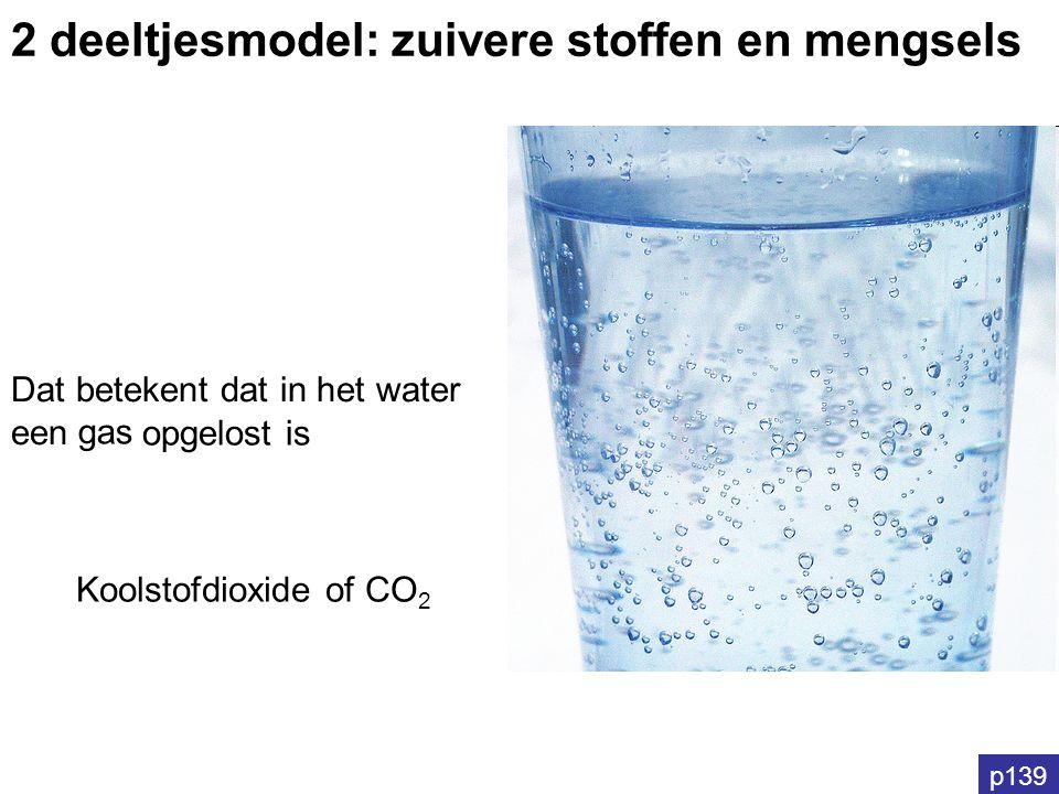 2 deeltjesmodel: zuivere stoffen en mengsels