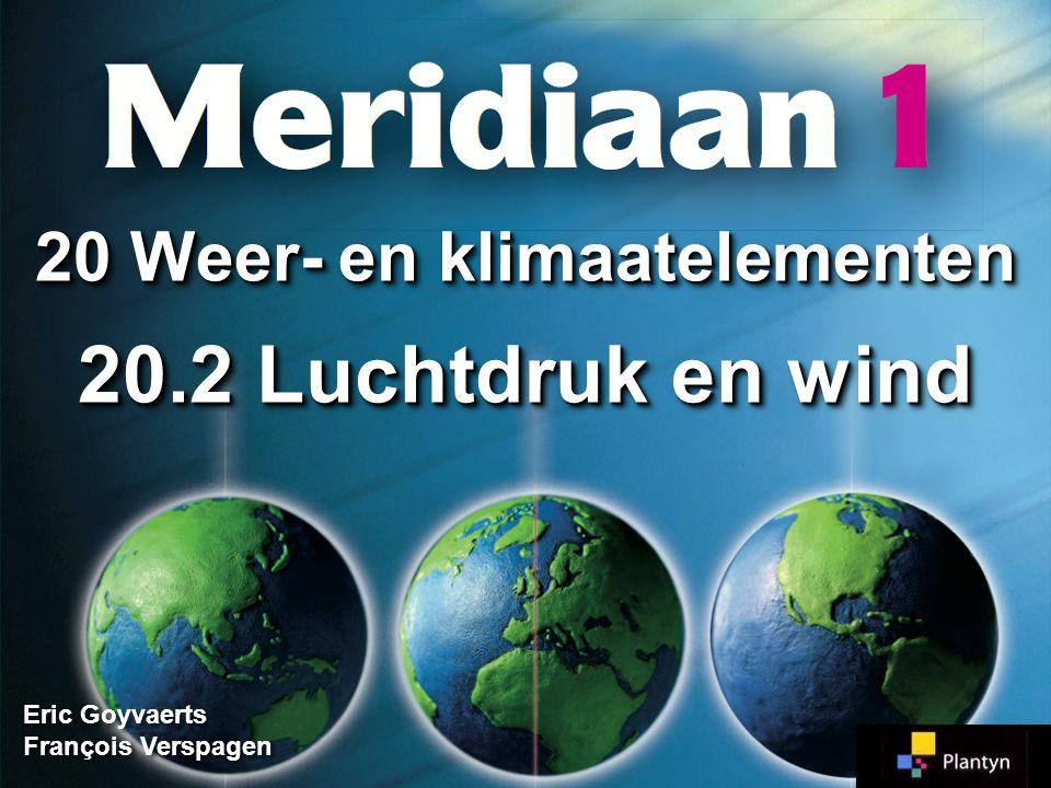 20 Weer- en klimaatelementen 20.2 Luchtdruk en wind