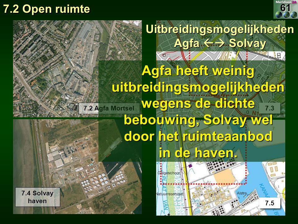 Uitbreidingsmogelijkheden Agfa  Solvay