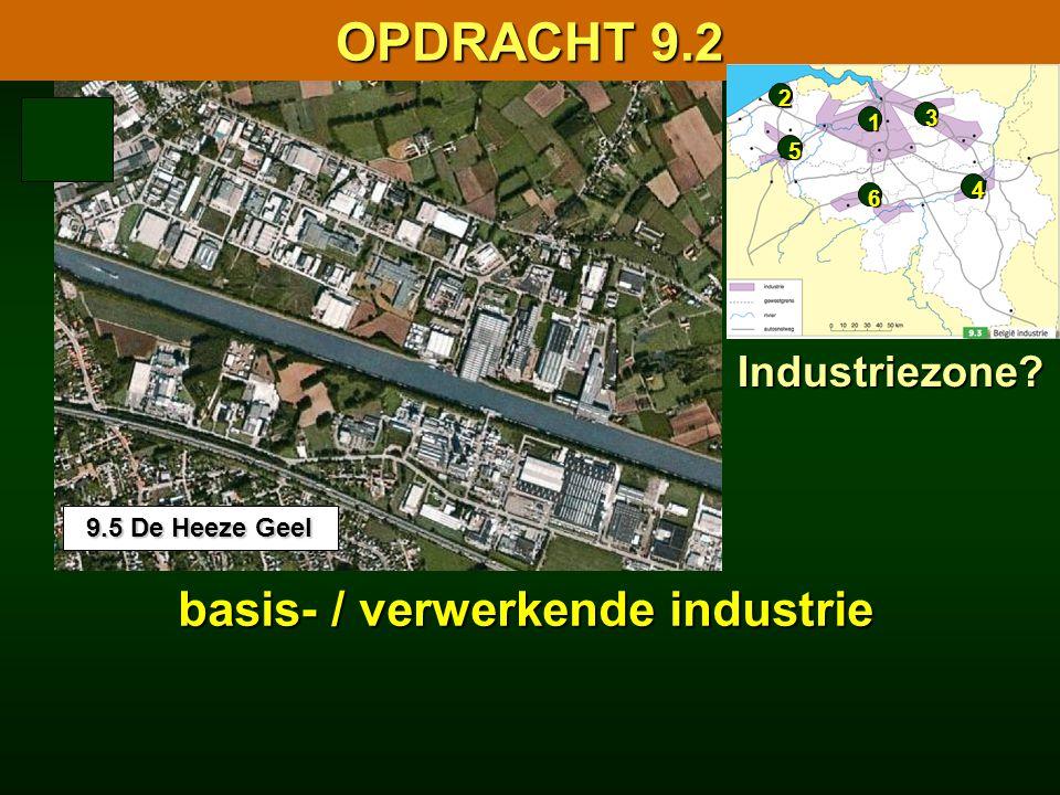 basis- / verwerkende industrie