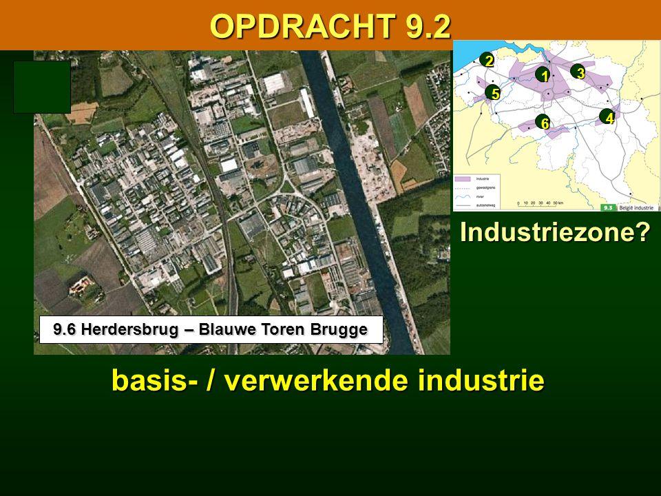 9.6 Herdersbrug – Blauwe Toren Brugge basis- / verwerkende industrie