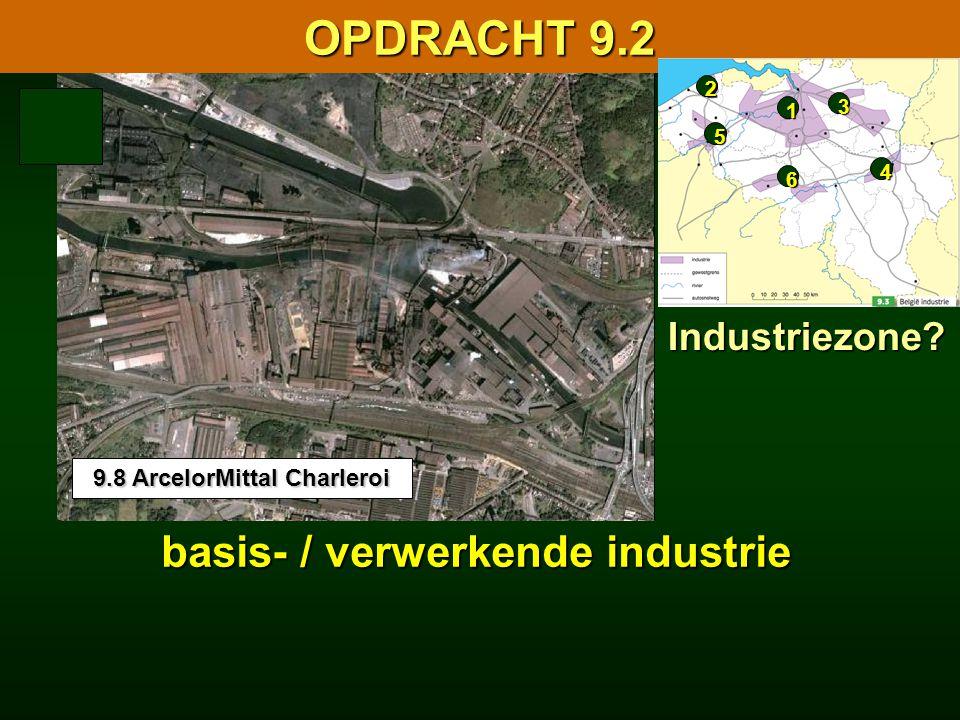9.8 ArcelorMittal Charleroi basis- / verwerkende industrie