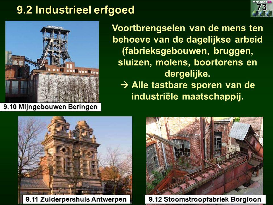 9.2 Industrieel erfgoed 73.