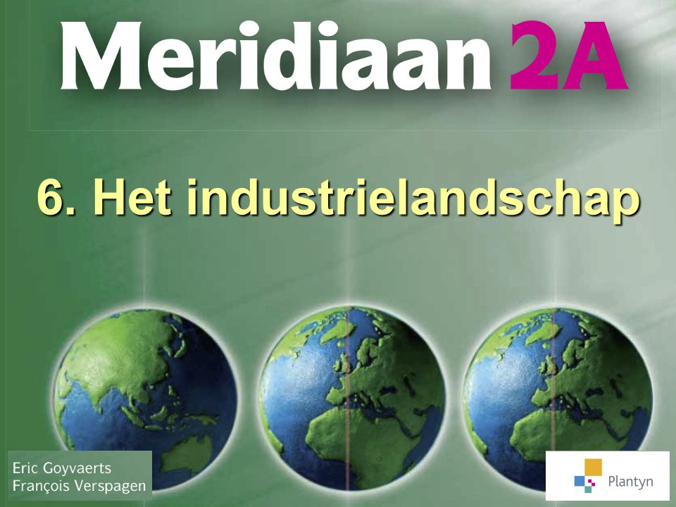 6. Het industrielandschap