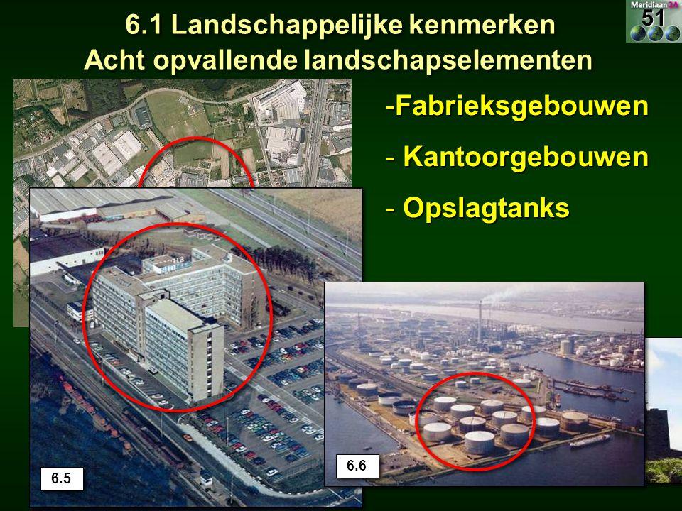 6.1 Landschappelijke kenmerken Acht opvallende landschapselementen