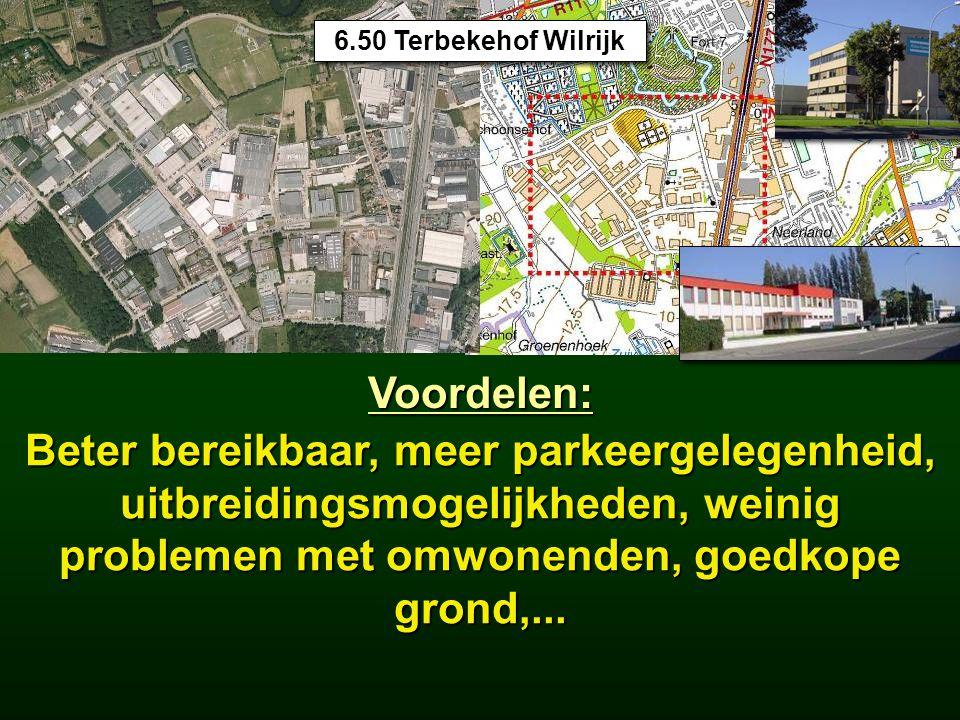 15.5 Industrieterreinen 6.50 Terbekehof Wilrijk. Voordelen:
